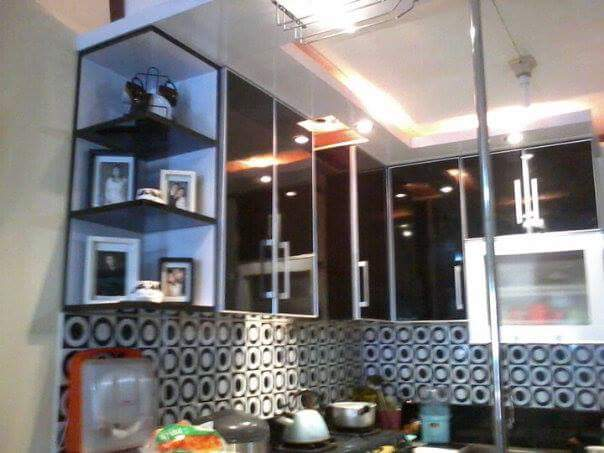 Kitchen Set Warna Hitam Glose Putih Jasa Kitchen Set Bekasi Murah