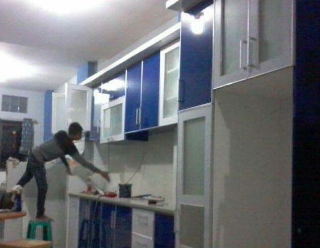 Kitchen set dibekasi